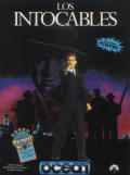 The Untouchables ZX Spectrum Front Cover