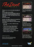 The Duel: Test Drive II ZX Spectrum Back Cover