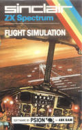 The Flight Simulator ZX Spectrum Front Cover