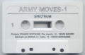 Army Moves ZX Spectrum Media