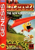 Pac-Man 2: The New Adventures Genesis Front Cover