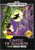Castle of Illusion starring Mickey Mouse Genesis Front Cover