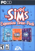 The Sims: Expansion Three-Pack Volume 1 Windows Front Cover