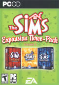 The Sims: Expansion Three-Pack Volume 2 Windows Front Cover