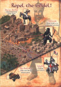 FireFly Studios' Stronghold Crusader Windows Inside Cover Right Flap