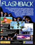 Flashback: The Quest for Identity Amiga Back Cover