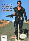 Mad Max NES Front Cover
