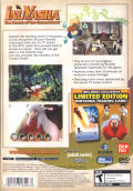 InuYasha: The Secret of the Cursed Mask PlayStation 2 Back Cover