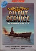 Silent Service PC Booter Front Cover