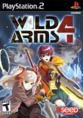 Wild Arms 4 PlayStation 2 Front Cover