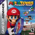 Mario Tennis: Power Tour Game Boy Advance Front Cover