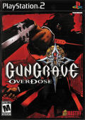 Gungrave: Overdose PlayStation 2 Front Cover
