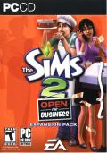 The Sims 2: Open for Business Windows Front Cover