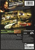 Need for Speed: Most Wanted Xbox Back Cover