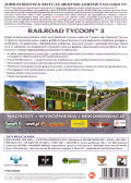 Railroad Tycoon 3 Windows Back Cover
