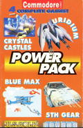 Commodore Format Power Pack 7 Commodore 64 Front Cover