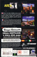 Area 51 SEGA Saturn Back Cover
