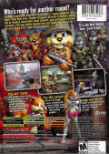 Conker: Live & Reloaded Xbox Back Cover