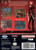 BloodRayne GameCube Back Cover