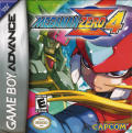 Mega Man Zero 4 Game Boy Advance Front Cover
