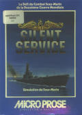 Silent Service Amstrad CPC Front Cover
