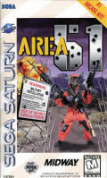 Area 51 SEGA Saturn Front Cover