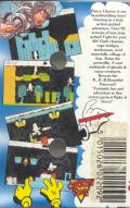 Prince Clumsy ZX Spectrum Back Cover