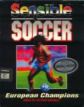 Sensible Soccer: European Champions: 92/93 Edition Amiga Front Cover