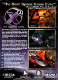 X²: The Threat Windows Back Cover