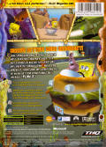 SpongeBob SquarePants: The Movie Xbox Back Cover