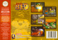 Conker's Bad Fur Day Nintendo 64 Back Cover