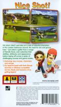 Hot Shots Golf: Open Tee PSP Back Cover