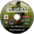 Metal Gear Solid 3: Subsistence PlayStation 2 Media Disc 1 - Subsistence