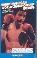 Star Rank Boxing ZX Spectrum Front Cover