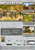Empire Earth II: The Art of Supremacy Windows Back Cover