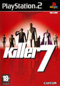 Killer7 PlayStation 2 Front Cover