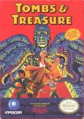 Tombs & Treasure NES Front Cover