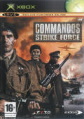 Commandos: Strike Force Xbox Front Cover