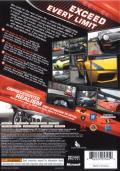 Project Gotham Racing 3 Xbox 360 Back Cover