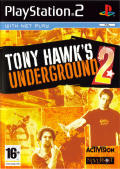 Tony Hawk's Underground 2 PlayStation 2 Front Cover