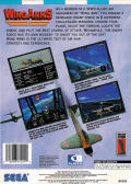 Wing Arms SEGA Saturn Back Cover