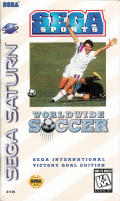 Worldwide Soccer: Sega International Victory Goal Edition SEGA Saturn Front Cover