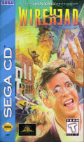 Wirehead SEGA CD Front Cover