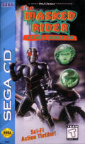 The Masked Rider: Kamen Rider ZO SEGA CD Front Cover