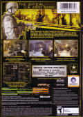 America's Army: Rise of a Soldier (Special Edition) Xbox Back Cover