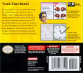 Brain Age: Train Your Brain in Minutes a Day! Nintendo DS Back Cover