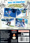 SSX on Tour GameCube Back Cover
