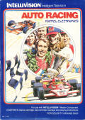 Auto Racing Intellivision Front Cover