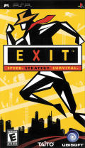 Exit PSP Front Cover