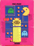 Pac-Man Intellivision Back Cover